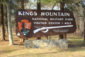 Kings Mountain National Military Park 2017