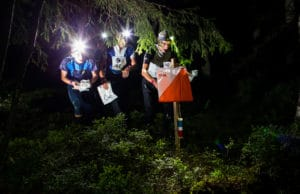 Night-O night orienteering
