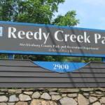 Reedy Creek Park sign