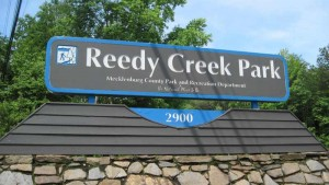 Reedy Creek Park sign